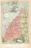 LAMINA ESPASA 19000: Mapa De Esmirna - Altre Collezioni
