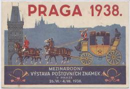 CPA AK PRAGUE PRAGA 1938 MEZINARODNI VYSTAVA POSTOVNICH ZNAMEK V PRAZE - Tsjechië