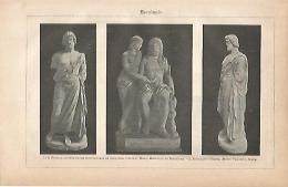 LAMINA ESPASA 18952: Esculapio - Altre Collezioni