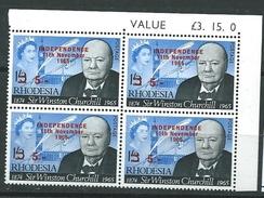 Southern Rhodesia, Quartina, Gibbons 373, Scott 222, Yvert 129 ** - Zimbabwe (1980-...)