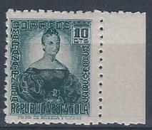 ES732-LA089TAN.España.Spain. CIFRA  Y PERSONAJES.Mariana Pineda. 1936/38 (Ed 732**) Sin Charnela,. MAGNIFICA - 1931-50 Nuevos & Fijasellos