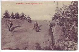 35 Monthault - La Pierre Glissante Du Rocher - Frankreich
