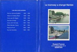 Lot De 16 CPM – BRETAGNE - LE TRAMWAY A CHANGÉ NANTES (44) - Tramways
