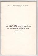 Algerie Guerre Independance -brochure Monde Des Femmes Entrée Cité -Alger 1968 ? Feminisme
