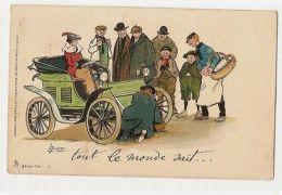 LANCE THACKERAY - BROKEN CAR - RAPHAEL TUCK 1900s POSTCARD SERIE 174/11  ( 37 ) - Ohne Zuordnung