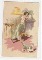 VENEZIANI  - WOMAN WITH CATS - EDIT ARS NOVA N. 331-4 - 1910s ( 29 ) - Illustrateurs & Photographes