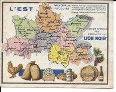 CPA Géographique L'EST, Publicité LION NOIR  3302 - Non Classificati