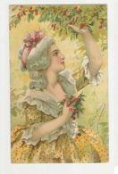 ELDA CENNI - GLAMOUR LADY WITH FLOWERS  - N. 6025  ( 76 ) - Non Classés