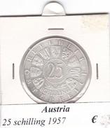 AUSTRIA   25  SHILLING   1957  COME DA FOTO - Autriche