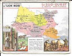 CPA Géographique LE SUD-OUEST, Publicité LION NOIR  10135 - Non Classificati