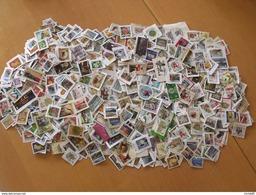NOUVEAU LOT 0.500 Kilo 500 GRAMMES TIMBRES COLLECTION ILES BRITANNIQUES  JERSEY GUERNESEY MAN ARRIVAGE Octobre 2016 - Lots & Kiloware (mixtures) - Min. 1000 Stamps