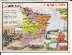 CPA Géographique LE NORD-EST, Publicité LION NOIR  13234 - Non Classificati