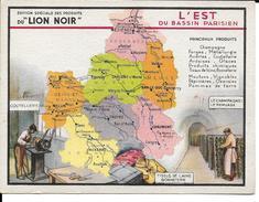 CPA Géographique L'EST, Publicité LION NOIR  13235 - Non Classificati
