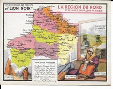 CPA Géographique LA REGION DU NORD, Publicité LION NOIR  13237 - Non Classificati