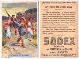 (Chromos) 091, Concours Sodex Lessive, Le Dernier De Mohikans Série F N° 2 - Autres