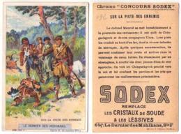 (Chromos) 092, Concours Sodex Lessive, Le Dernier De Mohikans Série F N° 3 - Autres