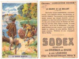 (Chromos) 093, Concours Sodex Lessive, Le Grand Giboyer Série E N° 1, La Colonie Du Lac Brillant - Autres