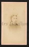 Photo-carte De Visite / CDV / Jeune Femme / Young Woman / Photographie Gustave Lancelot / Troyes - Photos