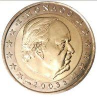 MONACO 2 Euro Kursmünze 2003 Unzirkuliert. - Monaco