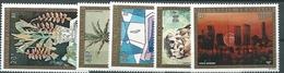 Polinesia Francese, Unif 84/88, Gibbons 189/93, Scott 107/111 ** - Posta Aerea