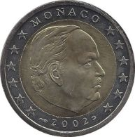 MONACO 2 Euro Kursmünze 2002 Unzirkuliert. - Monaco