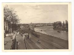 Nantes Photographie ( Légende Manuscrite Au Dos ) La Loire à Hauteur Des Salorges Et De L'ancienne île Mabon - Photographs