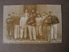 Carte Photo Ww1 Troyes Aube 10 Classe 310 324 60 Eme Regiment Artillerie 9eme Batterie - Guerre 1914-18