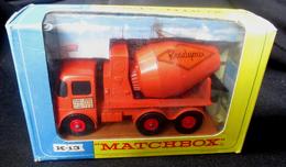 LESNEY - KING SIZE MATCHBOX * NR K13 - READY MIX -  ORIGINAL BOX - VOITURE CONDITION B - EN BOITE ORIGINALE *** 1970 - Toy Memorabilia