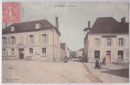 PINON (Aisne) - La Poste - Cpa Colorisée - France