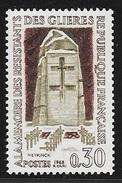 N° 1380   FRANCE  -  NEUF  -  HAUT LIEU DE LA RESISTANCE DE GLIERES   -  1963 - France