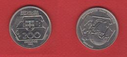 Portugal  --  200  Escudos 1991  --  Km # 659  --  état  SUP - Portugal