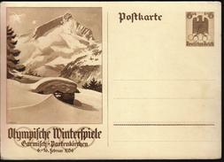 Germany Deutsches Reich 1936 / Olympic Games / Olympische Winterspiele Garmisch-Partenkirchen - Invierno 1936: Garmisch-Partenkirchen