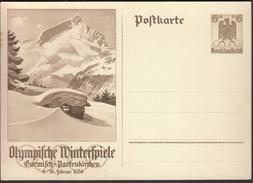 Germany Deutsches Reich 1936 / Olympic Games / Olympische Winterspiele Garmisch-Partenkirchen - Winter 1936: Garmisch-Partenkirchen