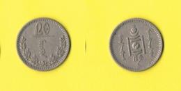 Mongolia 20 Mongo 1937 - Mongolie