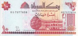 SUDAN 10 DINARS 1993  P-52 UNC */* - Soudan
