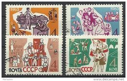 URSS 1963, Educazione Della Gioventù (o), Serie Completa