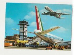 ITALY - MILAN - MALPENSA AIRPORT - 1970s  ( 1203 ) - Transportation