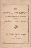 LES CINQ À SIX NIMOIS: Femmes D'après-guerre, Par GÉRARD LAVERGNE, 1925. - Livres, BD, Revues