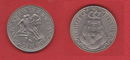 Portugal  --  250  Escudos 1988  --  Km # 643  --  état  SUP - Portugal