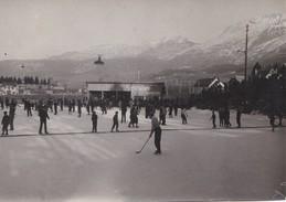 Photo Ancienne  Villars De Lans  Chalet De La Patinoire - Luoghi