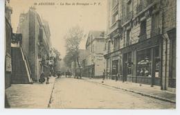 ASNIERES SUR SEINE - La Rue De Bretagne - Asnieres Sur Seine