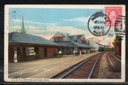 Etats Unis. Holyoke. B & M R R Station - United States