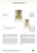 NOTICE PTT 1979 CHAPELAIN-MIDY - Documents Of Postal Services