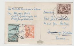 Yu108 /  JUGOSLAWIEN - Bedarfskarte Aus Split 1952 - Cartas