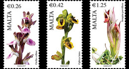Malta / Malte - Postfris / MNH - Complete Set Flora 2017 - Malta