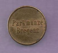 FICHAS - MEDALLAS // Token - Medal - Bregenz Vorarlberg Parkmünze Parking Token Ca. 5,99 G 21 Mm (1) - Allemagne