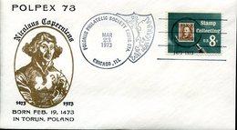 19316 U.s.a.,special Cover With Postmark 1973 Chicago, Polpex, Nicolas Copernic, Kopernikus,copernicus,kopernika - Astronomie