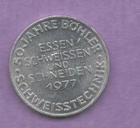 FICHAS - MEDALLAS // Token - Medal - Essen Schweissen Und Schneiden 1977  (1) - Zonder Classificatie