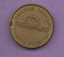 FICHAS - MEDALLAS // Token - Medal -PEOPLE MOVER / (LOGO) / HARBOUR ISLAND ® / TAMPA, FLORIDA  (1) - Allemagne