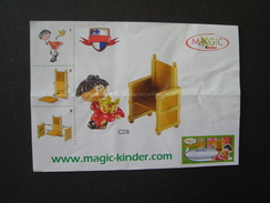 GREECE KINDER ONLY PAPERS INSTRUCTIONS CONTENT 2 SCAN - Kinder & Diddl